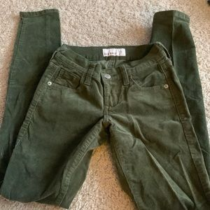 Old navy rockstar corduroy skinny jeans